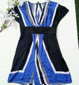 Express silk kimono style dress size medium